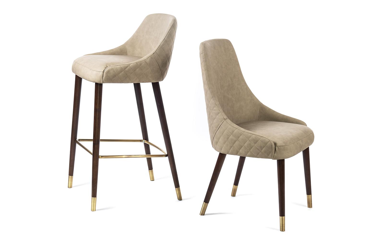 Dima One Chair & Barstool